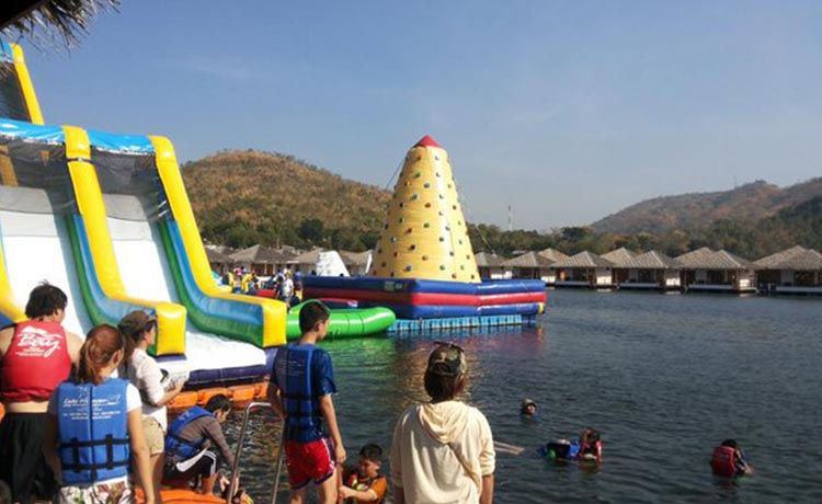 Ananta River Hills Resort water toy