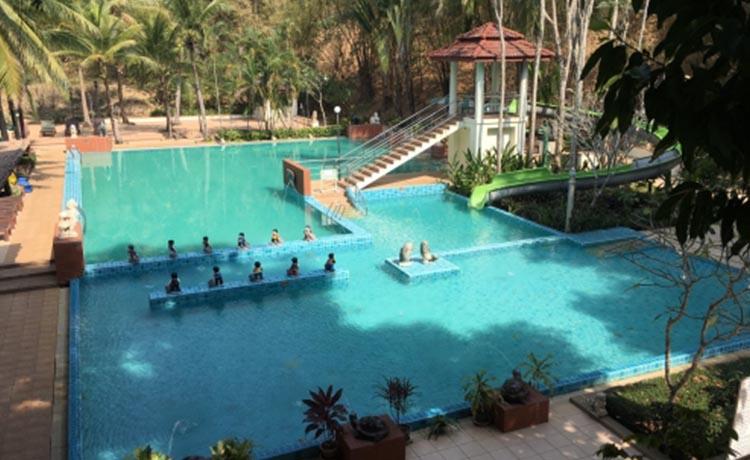 River Kwai Village Hotel Home water